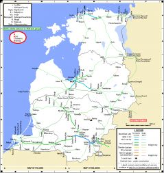maps - Baltic states\' network