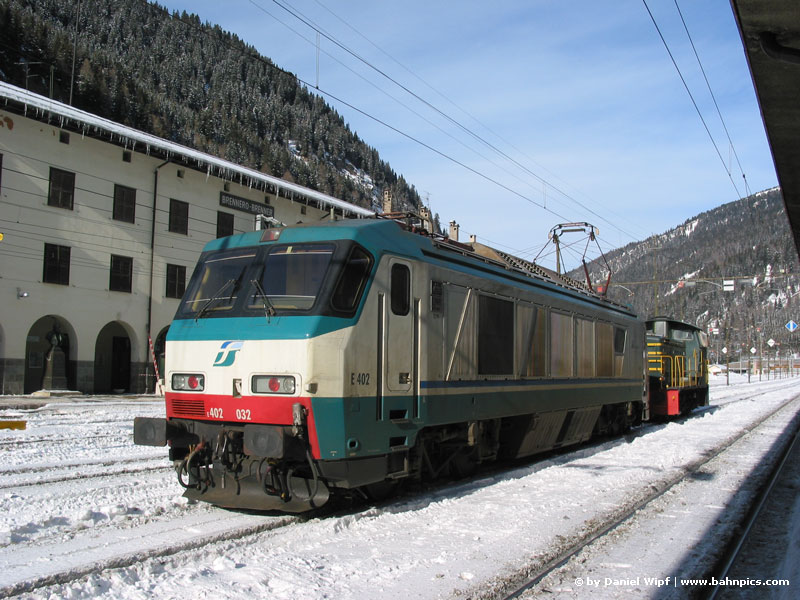 FS 402 at Brennero station