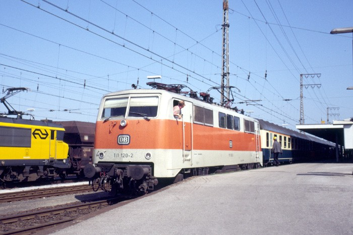 loco change at Emmerich