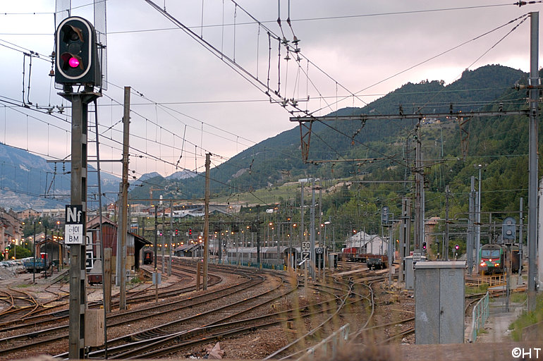 General view of Modane station