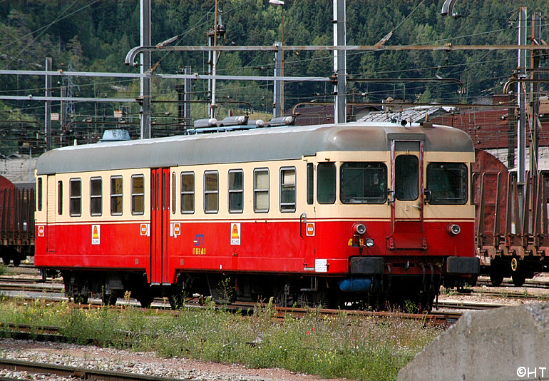 DMU at Modane sidings