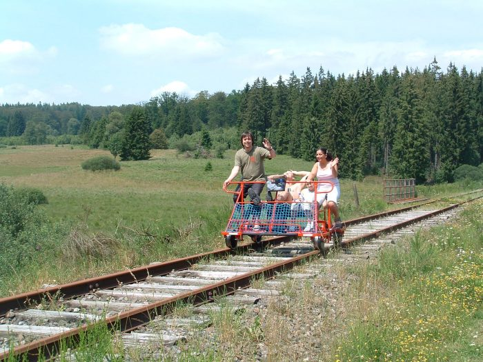 Railbike on Sourbrodt - Kalterherberg