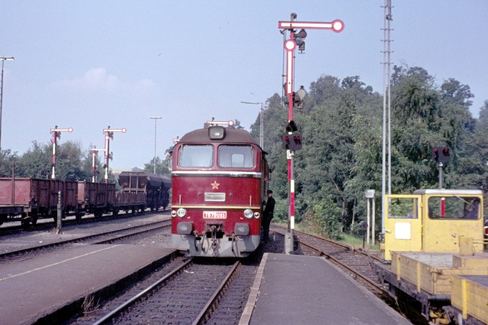 CSD loco T679.1263 at Schirnding
