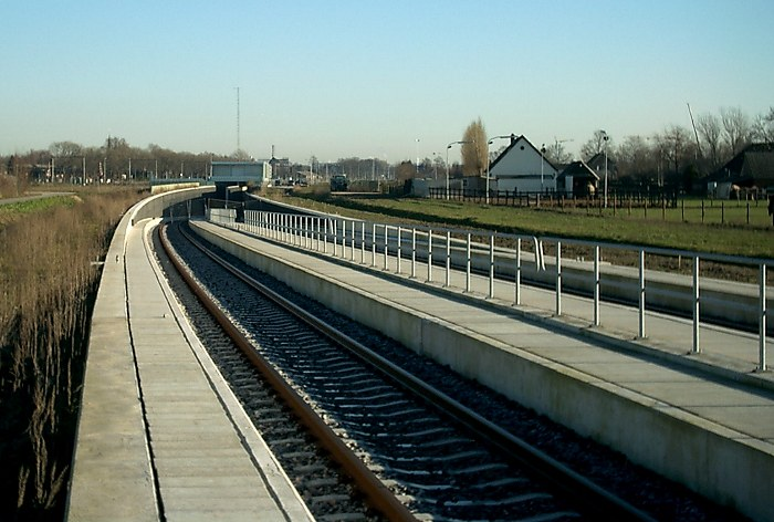 Beginning of Betuwe-line
